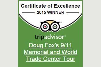 TripAdvisor Certificate 2015 Doug Fox